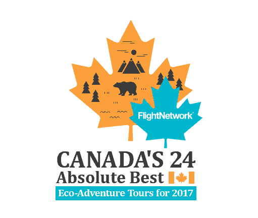 Canada's 24 Absolute Best Eco-Adventure Tours for 2017, featuring D-Tour