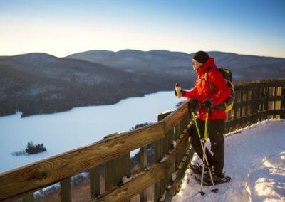 Raquette Parc national du Mont-Tremblant - activités | D-Tour