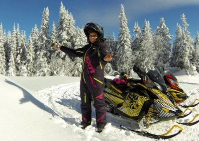 motoneige Mont-Tremblant - activités   D-Tour
