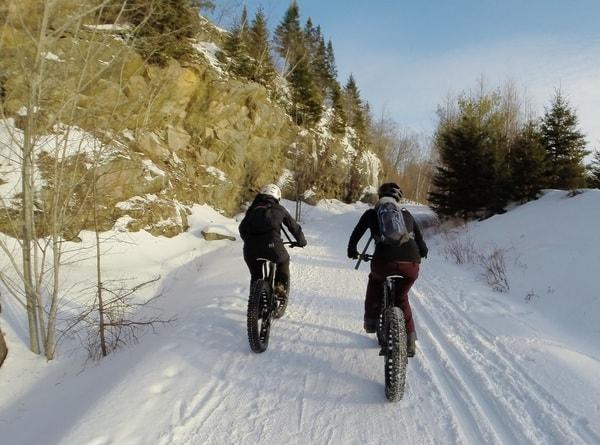 fatbike Mont-Tremblant