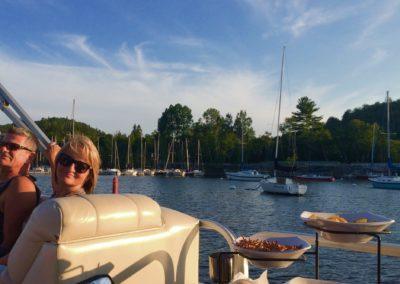 ponton lac Tremblant - activités | D-Tour