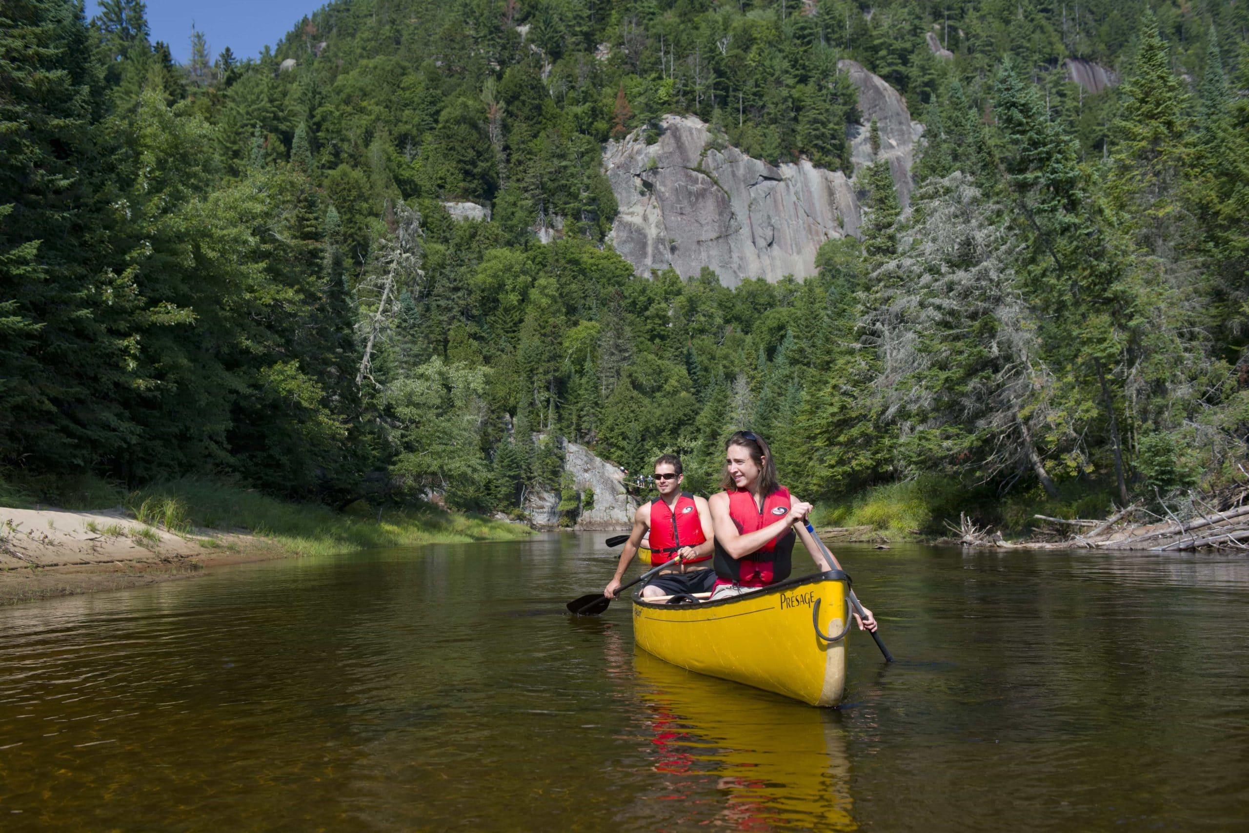 Canot Parc national du Mont-Tremblant