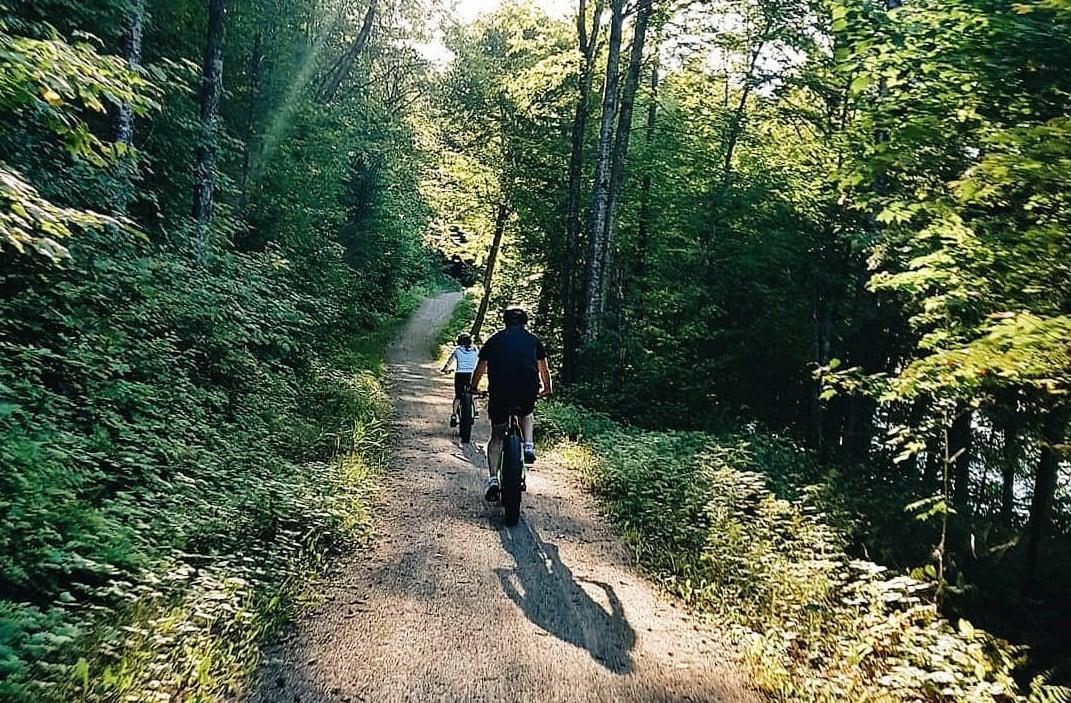 e-bike Parc national du Mont-Tremblant