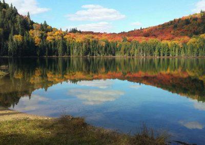 Lac Lauzon Parc national du Mont-Tremblant - activités | D-Tour