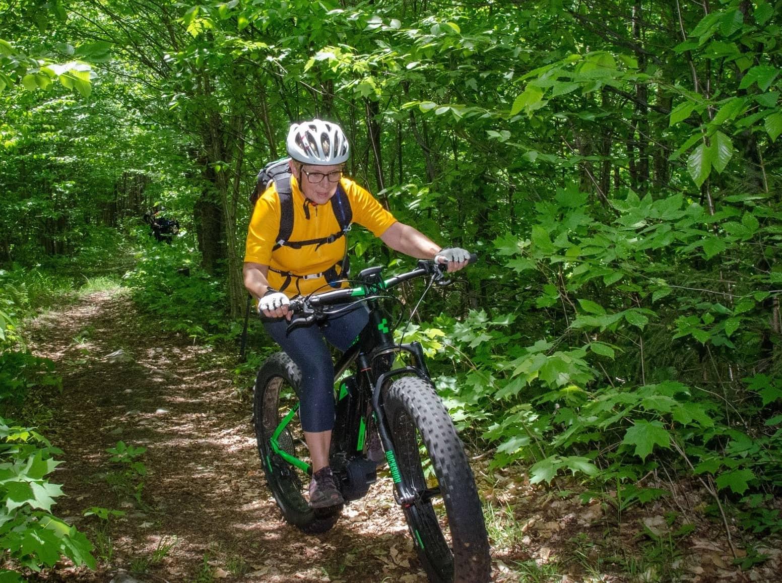 e-bike Mont-Tremblant