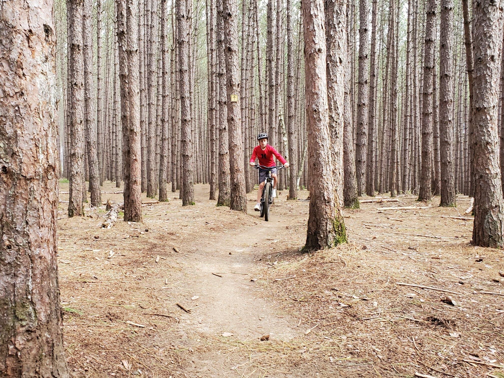 Initiation vélo de montagne