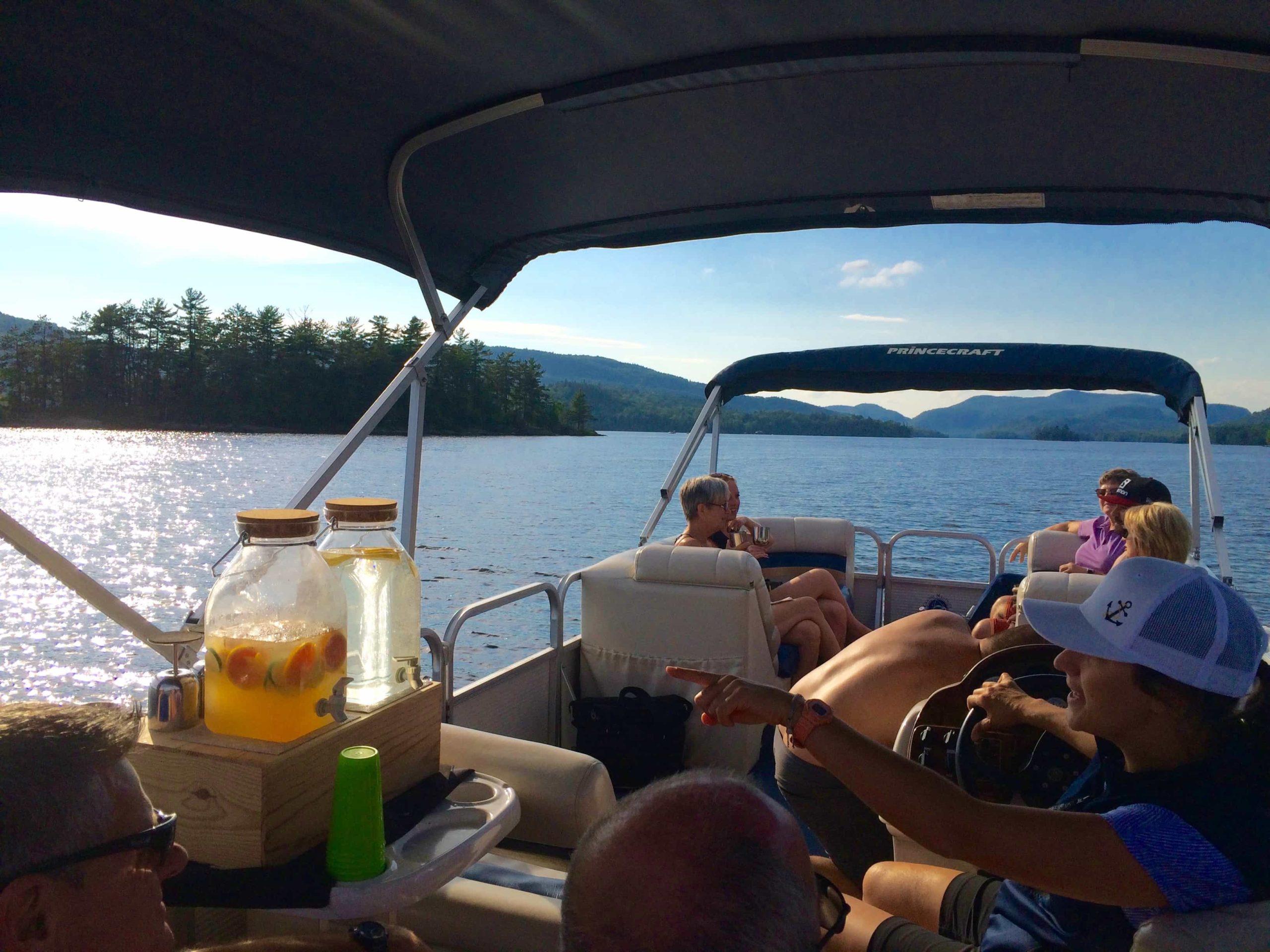 ponton lac Tremblant