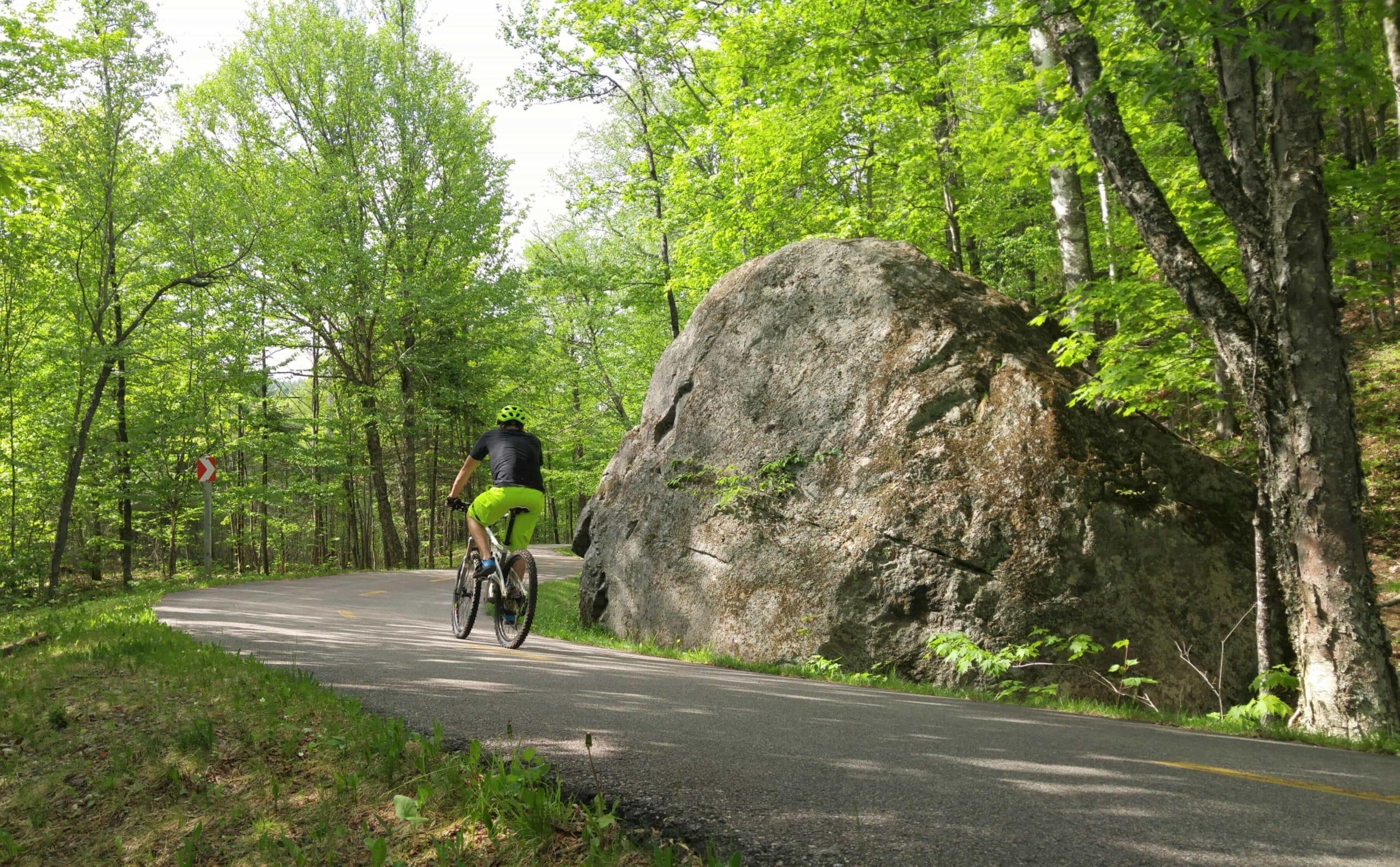 vélo cyclotourisme Mont-Tremblant