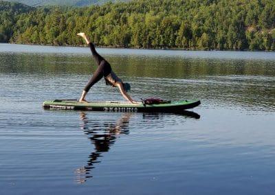 yoga sup Mont-Tremblant