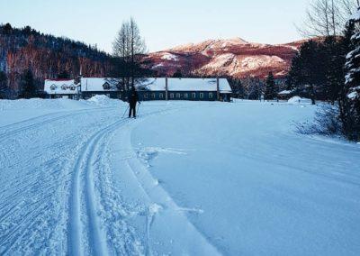 Ski de fond Domaine Saint-Bernard Mont-Tremblant