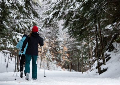 Ski de fond P'tit Train du Nord - activités | D-Tour